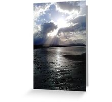 Blue Anchor # 1 Greeting Card