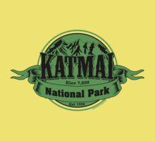 Katmai National Park, Alaska Kids Tee