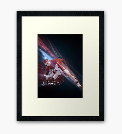 Jiu Jitsu No Gi Pass Poster Framed Print