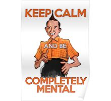 Keep Calm with Ed Grimley Poster