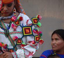 interaction of different cultures - encuentro de culturas distintas by Bernhard Matejka
