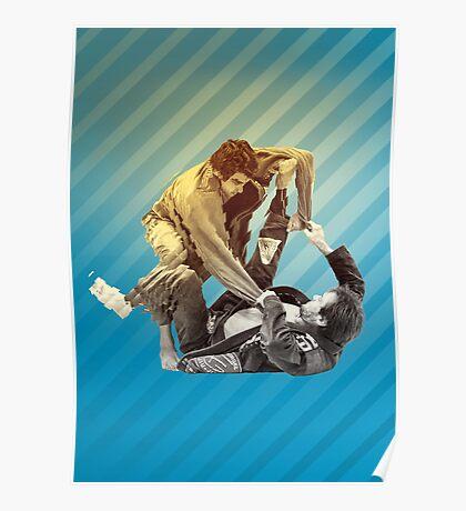 Jiu Jitsu Spider Guard Poster Poster