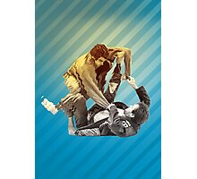 Jiu Jitsu Spider Guard Poster Photographic Print