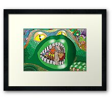 Introduced Species Framed Print
