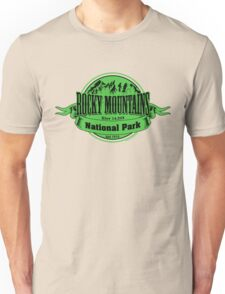 Rocky Mountains National Park, Colorado Unisex T-Shirt