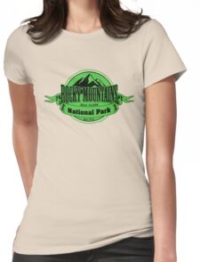 Rocky Mountains National Park, Colorado Womens Fitted T-Shirt