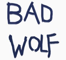 Bad Wolf- Doctor who T-Shirt