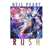 RUSH - Neil Peart Photographic Print