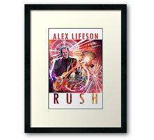 RUSH - Alex Lifeson Framed Print
