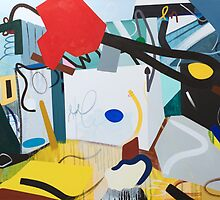Abstract Interior #8 by Lisa V Robinson