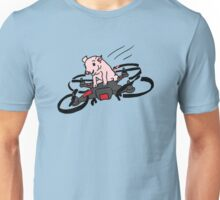 Pig on a Quadcopter Unisex T-Shirt