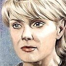 Amanda Tapping miniature by wu-wei