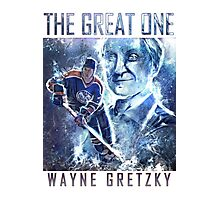 The Great One - Wayne Gretzky Photographic Print