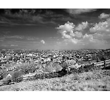 The village of Uphill Photographic Print