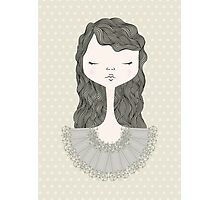 Pretty Girl Photographic Print