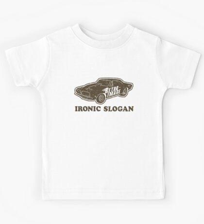 Ironic Slogan Kids Tee