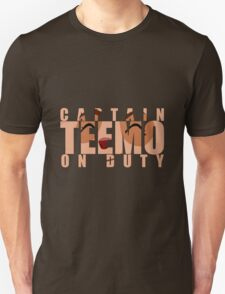 Captain Teemo on duty! T-Shirt