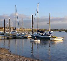 Row boat, Burnham-on-Sea. by Antony R James