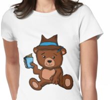 Teddy Bear: Toy P.I.  Womens Fitted T-Shirt