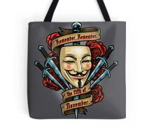 Fifth of November Tote Bag