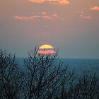 Sunset along Lake Michigan - 4 by Debbie Mueller