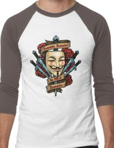 Fifth of November Men's Baseball ¾ T-Shirt