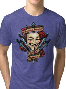 Fifth of November Tri-blend T-Shirt
