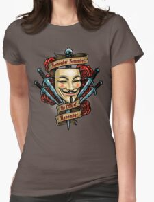 Fifth of November Womens Fitted T-Shirt