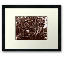 Carrousel Jules Verne Framed Print