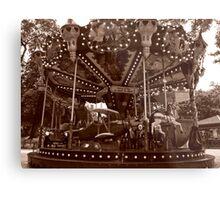 Carrousel Jules Verne Metal Print