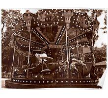 Carrousel Jules Verne Poster