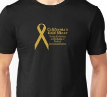 California's Gold Miner Facing Extinction Unisex T-Shirt