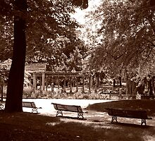 La Colonnade Du Parc Monceau by Alex Cassels