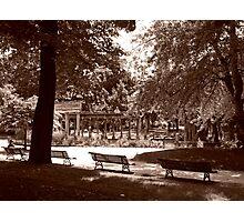 La Colonnade Du Parc Monceau Photographic Print