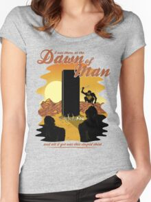 The Dawn of Man Women's Fitted Scoop T-Shirt