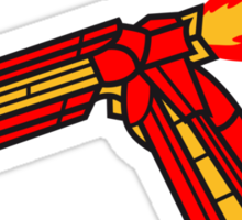 Elbow Rocket Robot Arm Sticker