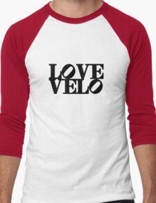 Love Velo Men's Baseball ¾ T-Shirt