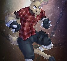 Arcad the Moose-man by seoxys