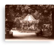 Manege Du Parc Monceau Canvas Print