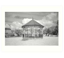 Bandstand in Blake Gardens. Art Print