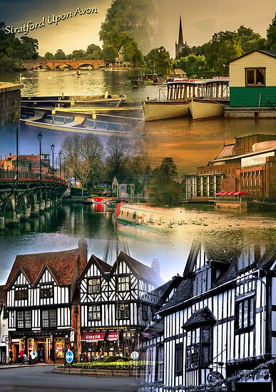 Stratford upon Avon Montage by StephenRphoto