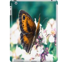 Butterfly in the garden  iPad Case/Skin