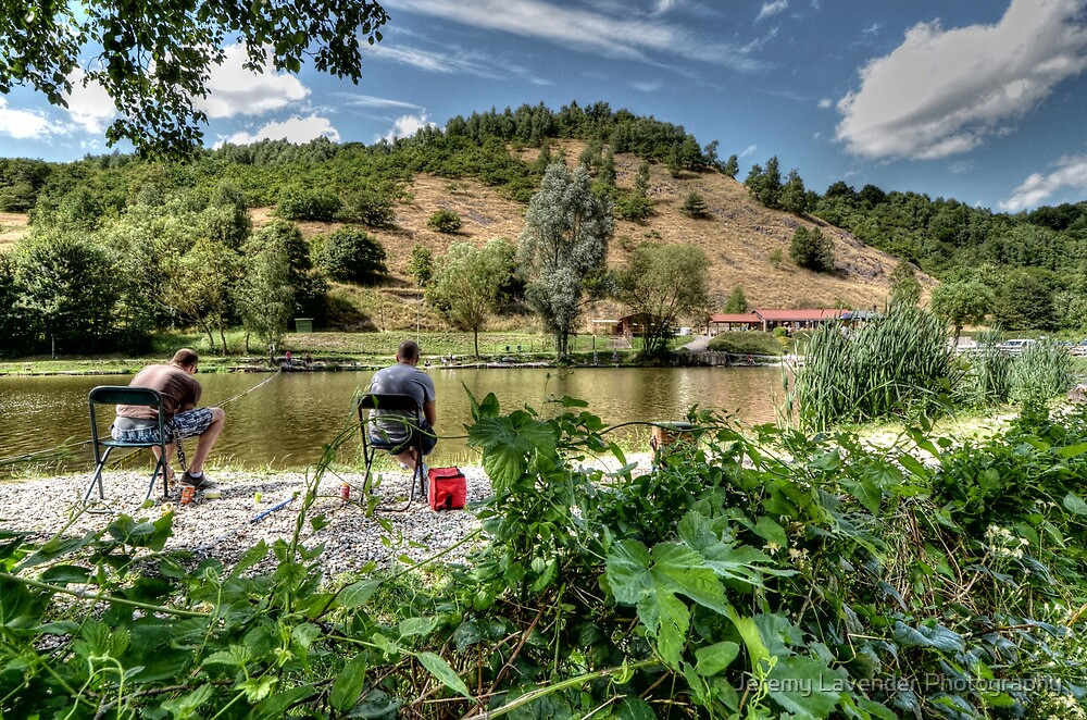 Fishing day in Trooz, Belgium by Jeremy Lavender Photography