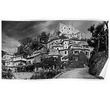Castelvecchio di Rocca Barbena Poster