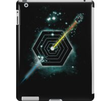 Space and Time Fragmentation Ship iPad Case/Skin