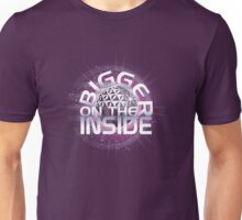 Bigger On The Inside - Purple Unisex T-Shirt