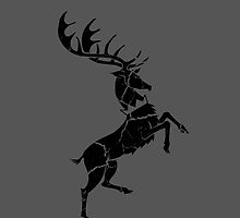 House Baratheon Worn Grey by Greg Brooks