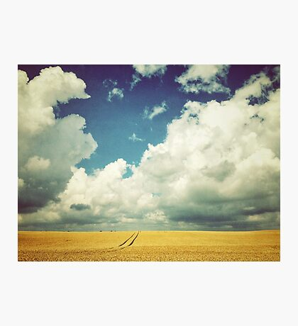 Into the Great Wide Open Photographic Print