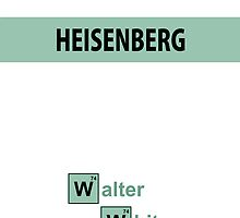 Breaking Bad - Heisenberg White [IPhone Case] by Ilcho Trajkovski