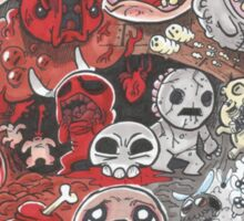 The Binding of Isaac - Into the Depths - HIGH QUALITY Sticker